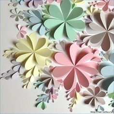 Delightful DIY Paper Flower Wall Art Free Guide and Templates All done with folded hearts! The post Delightful DIY Paper Flower Wall Art Free Guide and Templates appeared first on Paper Diy. Paper Flower Wall, Paper Flower Backdrop, Giant Paper Flowers, Diy Flowers, Paper Flowers How To Make, Folded Paper Flowers, Dahlia Flowers, Paper Rosettes, Flower Fabric