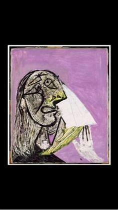 Resultado de imagen de Pablo Picasso (1881-1973) : portrait de Marie Thérèse Walter, 1937.