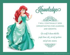 Young Women Value Disney Princess Posters | Knowledge: Ariel