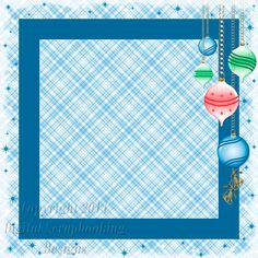 "Layout ST 2F.....Stacked Paper, Blue, Digital Scrapbooking, Christmas Time Collection, 12"" x 12"", 300 dpi, PNG File Format"