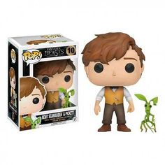 """Universe of goods - Buy """"Exclusive Funko pop Official Fantastic Beasts - Newt Scamander & Picket Vinyl Action Figure Collectible Model Toy"""" for only USD. Objet Harry Potter, Harry Potter Pop, Pop Vinyl Figures, Pop Disney, Funko Pop Dolls, Pop Figurine, Funk Pop, Funko Figures, Pop Toys"""