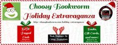 Subscribe to the Choosy Bookworm newsletter For FREE and discount eBooks delivered straight to your inbox!  Enter the Grand Prize Giveaway sponsored by Choosy Bookworm for a chance to win one of two $250 prizes!  Check out the authors of #eNovAaW and enter to win many books, prizes, and gift cards sponsored by the authors of #eNovAaW