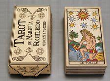 TAROT DE MARSELLA CARD DECK MARSEILLE RESTORATION - AGED ED. - PABLO ROBLEDO -