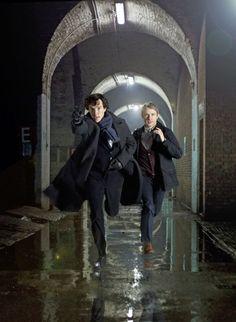 Sherlock TV Series (BBC 2010) starring Benedict Cumberbatch and Martin Freeman.
