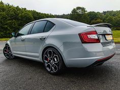 From a fast Audi to another fast member of the VAG family, the Skoda Octavia VRS. Skoda seem to be producing some well designed cars these days Cars And Coffee, Car Photography, Amazing Cars, Driving Test, Car Show, Fast Cars, Instagram, Cars, Sports