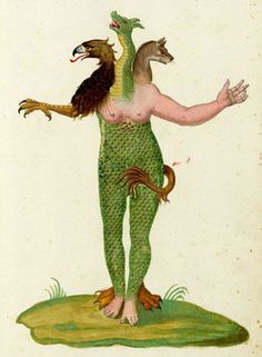 """bankston: """" odditiesoflife: """" Monstrorum Historia (A History of Monsters), 1642 Ulisse Aldrovandi (1522 — 1605) was an Italian naturalist and physician, also known as Ulysses Aldrovandi, or simply as..."""