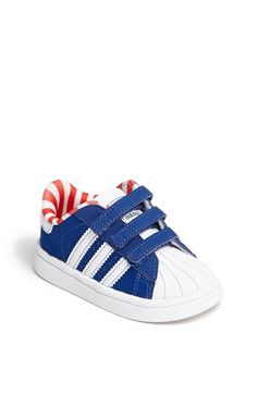 adidas 'Superstar 2' Sneaker (Baby, Walker & Toddler) available at #Nordstrom