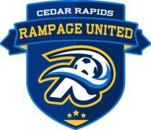 2015, Cedar Rapids Rampage United (Cedar Rapids, Iowa) Div: West, Clark Field #CedarRapidsRampageUnited #CedarRapidsIowa #PLA (L13339)