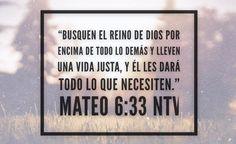 """""""La preocupación de todo ser humano es la misma: comida, vestuario, vivienda. Pero Jesús nos dice que nuestro Padre celestial sabe que tenemos necesidad de todas estas cosas y nos dice cuál es el elemento clave. Lo que tenemos que hacer para prosperar en esta vida es buscar primero a Dios.""""   #FórmulasBíblicasParaProsperar  #BuscaPrimeroADios #LasBellasProsperan"""