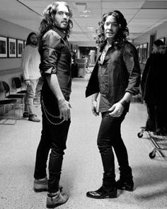 Russell Brand and Jimmy Fallon ...