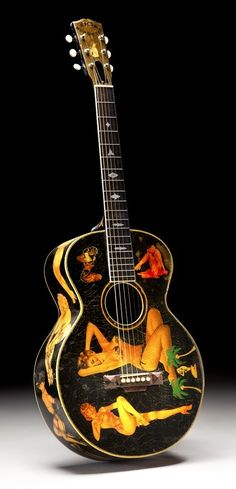 "1928 Gibson Nick Lucas Special with ""special"" decals. She's a beaut, oh, the guitar as well."