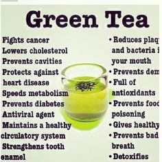 Cat Nutrition Health Green Tea Benefits: 19 Health Benefits Of Drinking Green Tea - Green Tea benefits for your skin, hair, weight loss. Benefits of drinking green tea regularly. Benefits of green tea on your body, mind, bones and beauty. Healthy Drinks, Healthy Tips, Healthy Meals, Healthy Skin, Detox Drinks, Stay Healthy, Healthy Recipes, Healthiest Drinks, Tea Recipes