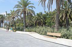 euroform w benches - Savona beach, Italy