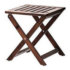 ÄPPLARÖ Taburet, sammenklappelig - IKEA