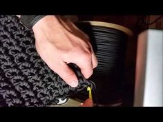 DIY1000 ft 550 paracord backpack build - YouTube