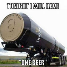 Tonight I will have one beer - meme - http://jokideo.com/tonight-i-will-have-one-beer-meme/