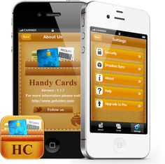 Handy Cards eWallet is a perfect virtual wallet for storing all your credit, debit, loyalty, prepaid, fidelity and airline cards at one place. A digital wallet that is easy to use, secure and customizable. Move your plastic cards into this smart iPhone wallet app.