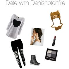 """""""Date with Danisnotonfire"""" by thatawkwardfan on Polyvore"""