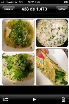 Sascha Barboza @Sascha Schneider Barboza 11h Wrap (enrollado) de huevo! Con 4 claras o 3 claras+1 huevo haz una tortilla y rellena de vegetales