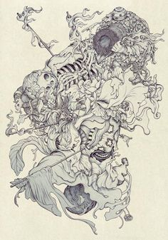 Nest by James Jean *