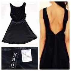 Image result for divided black skater cut dress