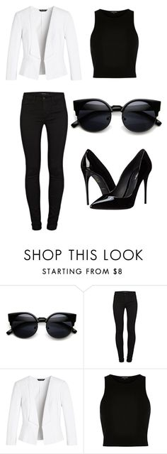 """""""Untitled #165"""" by chaniyanesbitt ❤ liked on Polyvore featuring J Brand, White House Black Market, River Island and Dolce&Gabbana"""