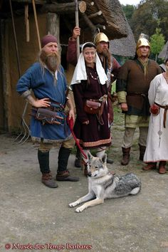 Merovingian Carolingian, Early Middle Ages, Medieval Clothing, Iron Age, Epoch, Dark Ages, Barbarian, Larp, Warriors