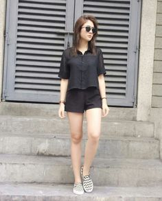12 Times Sofia Andres Looked Effortlessly Cool - Star Style PH Flannel Outfits Summer, Summer Outfits For Teens, Basic Outfits, Simple Outfits, Casual Outfits, Cute Outfits, Simple Ootd, Casual Ootd, Hot Day Outfit