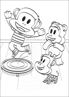 Julius Jr. & Friends #coloring sheet ready for your # ...