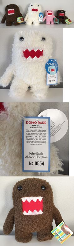 Mixed Lots 158780: Domo Plush Lot - Sdcc 2013 Exclusive Indomitable Abominable Domo -> BUY IT NOW ONLY: $100 on eBay!