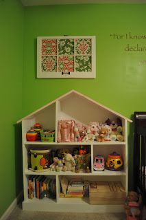 a sweet life: DIY dollhouse bookcase