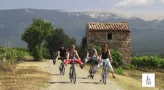 Biking Provence video. Repinned by www.mygrowingtraditions.com