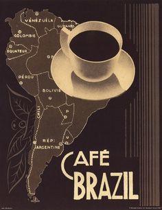 Cafe Brazil II by Wild Apple Studio art print