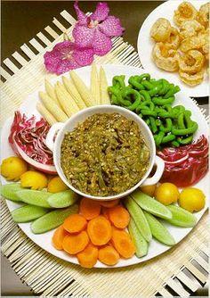 Nam Prik Noom.. Green Thai Chili Dip