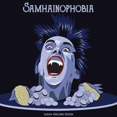 day 16 ephebiphobia fear of teens phobia fear 31daysofhalloween halloween clueless scared horror wwwsarahhedlundcom pinterest horror - Phobia Halloween