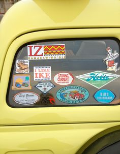 Sept 2013 Encinitas Classic Car Nights #surf #stickers #hotrods #classic