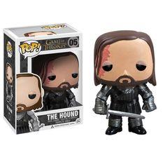Game of Thrones Figur POP! The Hound Sandor Clegane Bluthund