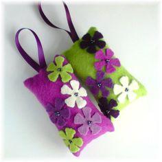 Felt lavender bags
