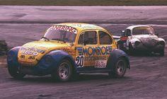 Mikael Nordstrom  Rallycross Volkswagen Beetle - 4 wheel drive Turbocharged - Brands Hatch Rallycross - 1985