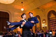 The Jefferson Hotel Richmond, VA Grand Ballroom Daniel Min Photography Same Sex Wedding