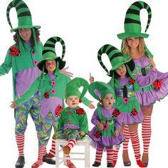 Fictional Characters, Art, Carnival, Green Goblin, Leprechaun Costume, Group Costumes, Elves, Craft Art, Kunst