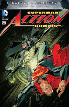 Action Comics #50 (variant by Martin Ansin) Superman, batman, dc