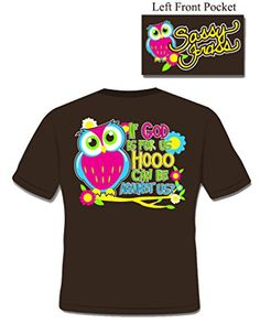 Hoo Can Be Against Us - Ladies 2X-Large - Christian T-Shirt Sassy Frass http://www.amazon.com/dp/B00EZG3SJ0/ref=cm_sw_r_pi_dp_z688tb1QMRP3F