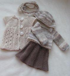 OOAK Hand Knit Doll Outfit Set for 13 039 039 BJD Helen Kish Diana Effner | eBay