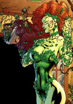My favorite Villain in DC comics has to be Poison Ivy. She's gorgeous and I love the Ivy ability.