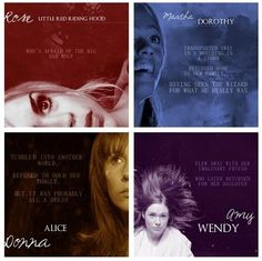 Dr whos companions compared to fairy tales!