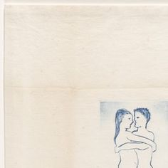 Louise and Robert, plate 6 of from the series, Self Portrait. Louise Bourgeois, Illustration Art, Illustrations, Fox Art, Moma, American Artists, Installation Art, Painting & Drawing, Contemporary Art