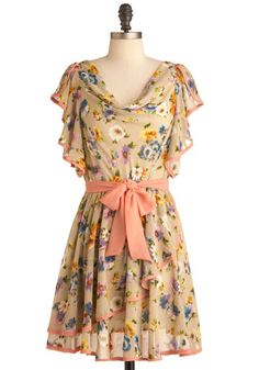 I want this pretty frock :)