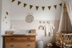 Our baby room is ready! Zara Home, Rattan, Mom Blogs, Baby Room, Kids Room, Table, Furniture, Home Decor, Diy Regal