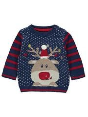 Christmas Knitted Rudolph Jumper